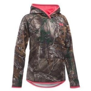 Under Armour Shirts & Tops - Under Armour Camo Hoodie YLG